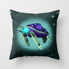 Space Turtle  Throw Pillow