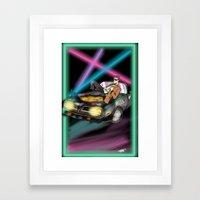 The Doctor in 1983 Framed Art Print