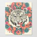 bengal mandala Canvas Print