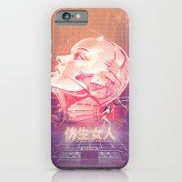 iPhone & iPod Case featuring BIONIC WOMAN by mattdunne