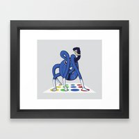 Twister World Champion Framed Art Print
