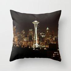 Simply Seattle Throw Pillow