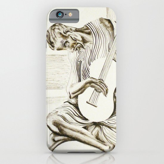 The New Old Guitarist iPhone & iPod Case