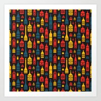 Drinks on the House Art Print
