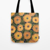 Sunflower Afternoon Tote Bag