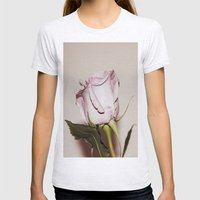 Last Rose Womens Fitted Tee Ash Grey SMALL