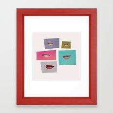 Talk to Me Framed Art Print