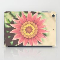 Red flower iPad Case