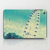Round and Round We Go iPad Case