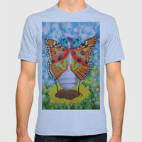 IMAGONIA Mens Fitted Tee Athletic Blue SMALL