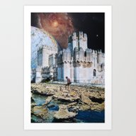 Art Print featuring Fortress by John Turck