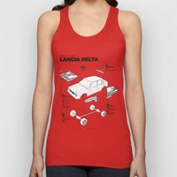 Lancia Delta History Model Kit in the WRC Unisex Tank Top