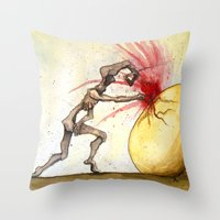 Mercuriosity Throw Pillow
