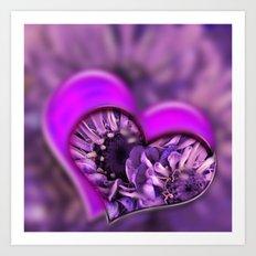 Love - Pic In Pic Art Print