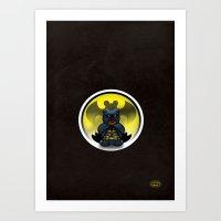Super Bears - The Moody … Art Print