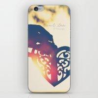 Heart of wax iPhone & iPod Skin