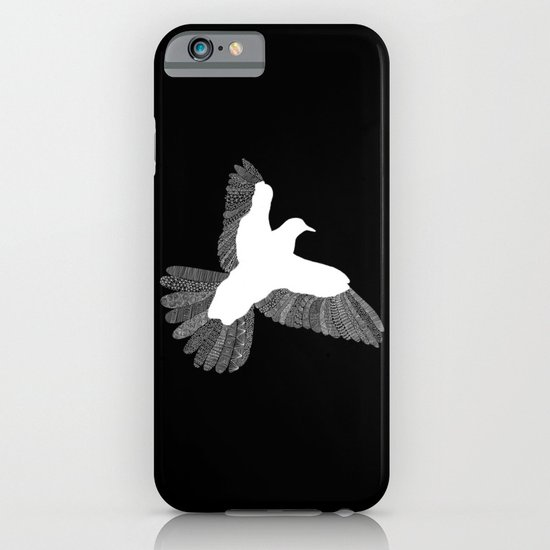 Bird (On Black) iPhone & iPod Case