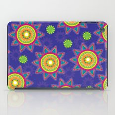 Moroccan Flower Purple iPad Case