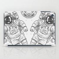 astro Traveller Retro iPad Case
