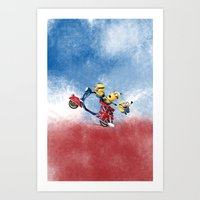 MINION LIFE: HAPPY FRIEN… Art Print