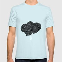 - 2003 - Mens Fitted Tee Light Blue SMALL
