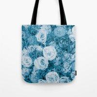 Bouquet ver.bluegreen Tote Bag