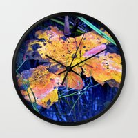 Summer Sky is touching Water Ground Wall Clock