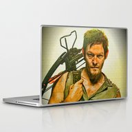 Daryl Dixon The Walking … Laptop & iPad Skin