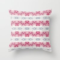 CANDY SHIBORI Throw Pillow