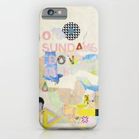 iPhone & iPod Case featuring ON SUNDAYS I DON'T TALK by ICE CREAM FOR FREE