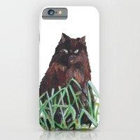 Grass Cat iPhone 6 Slim Case