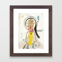 Lose myself Framed Art Print