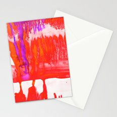 Dip Dye Tangelo Stationery Cards