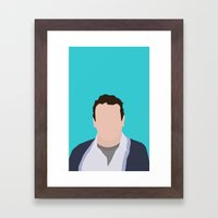 Marshall Ericksen HIMYM Framed Art Print