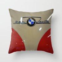 BMW Isetta Throw Pillow