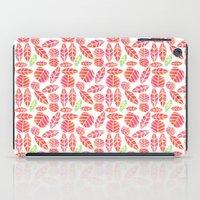 minimalist autumn iPad Case