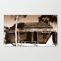 Step back in Time! Canvas Print