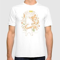 Bears Know Best Mens Fitted Tee White SMALL