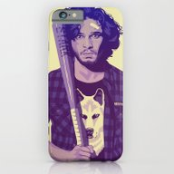 iPhone & iPod Case featuring GAME OF THRONES 80/90s E… by Mike Wrobel