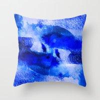 Zodiac Signs Pisces Throw Pillow