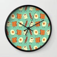 Let's All Go And Have Br… Wall Clock