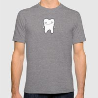 Popcorn Kernel Mens Fitted Tee Tri-Grey SMALL