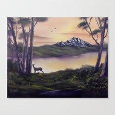 Deer Island Canvas Print