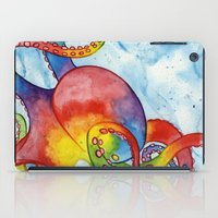 Rainbow Octopus iPad Case