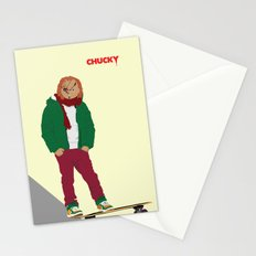 CHUCKY - Modern outfit version Stationery Cards