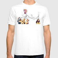 Who are you calling past it? Mens Fitted Tee White SMALL