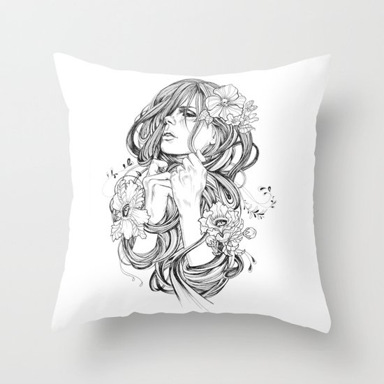 From A Tangled Dream Throw Pillow