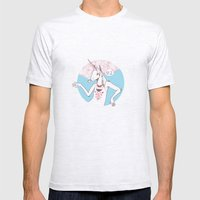 Bow Ties Are Cool Mens Fitted Tee Ash Grey SMALL