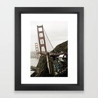 The Golden Gate Framed Art Print