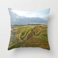 Napa Valley Throw Pillow
